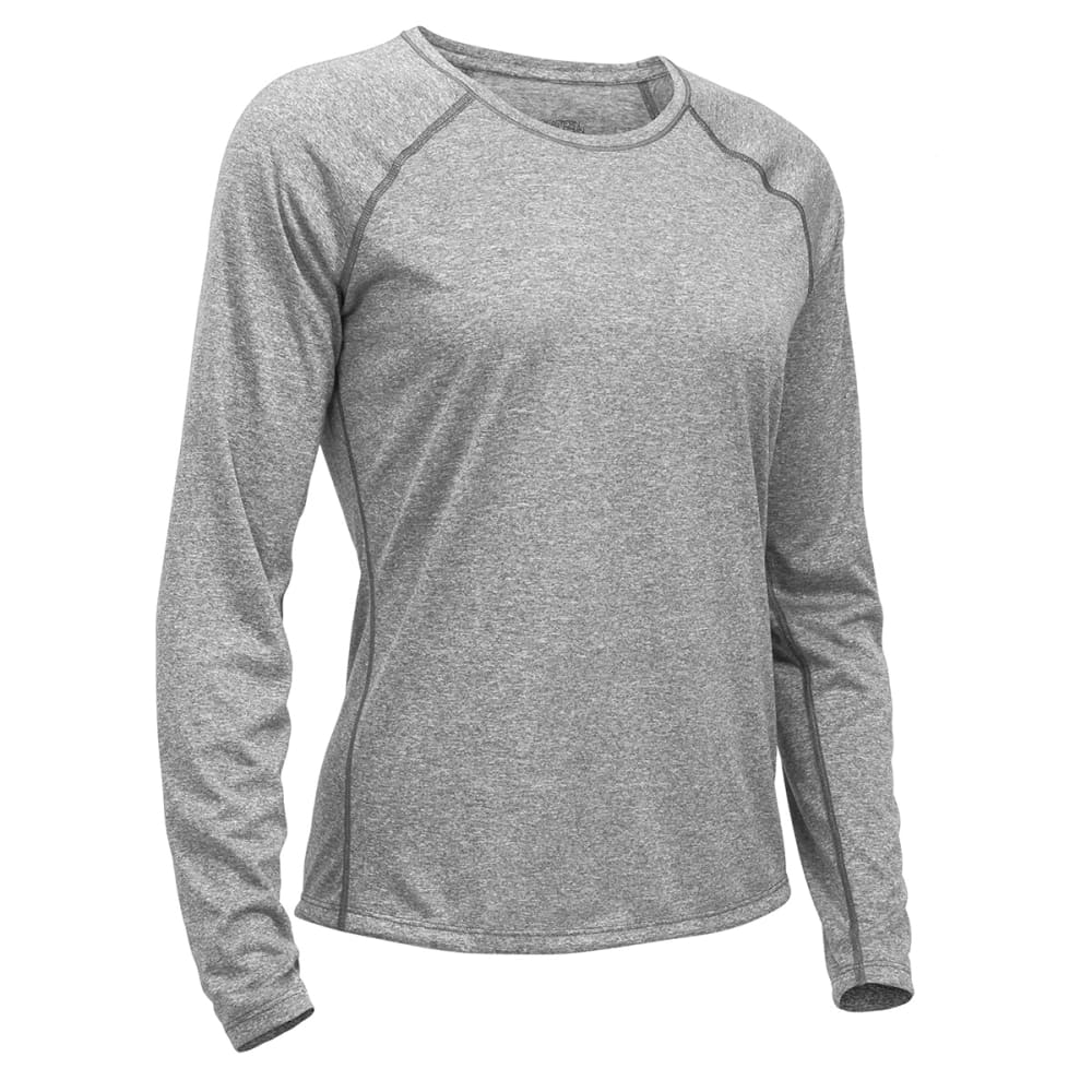 EMS Women's Techwick Essence Long-Sleeve Shirt - NEUTRAL GREY HTR