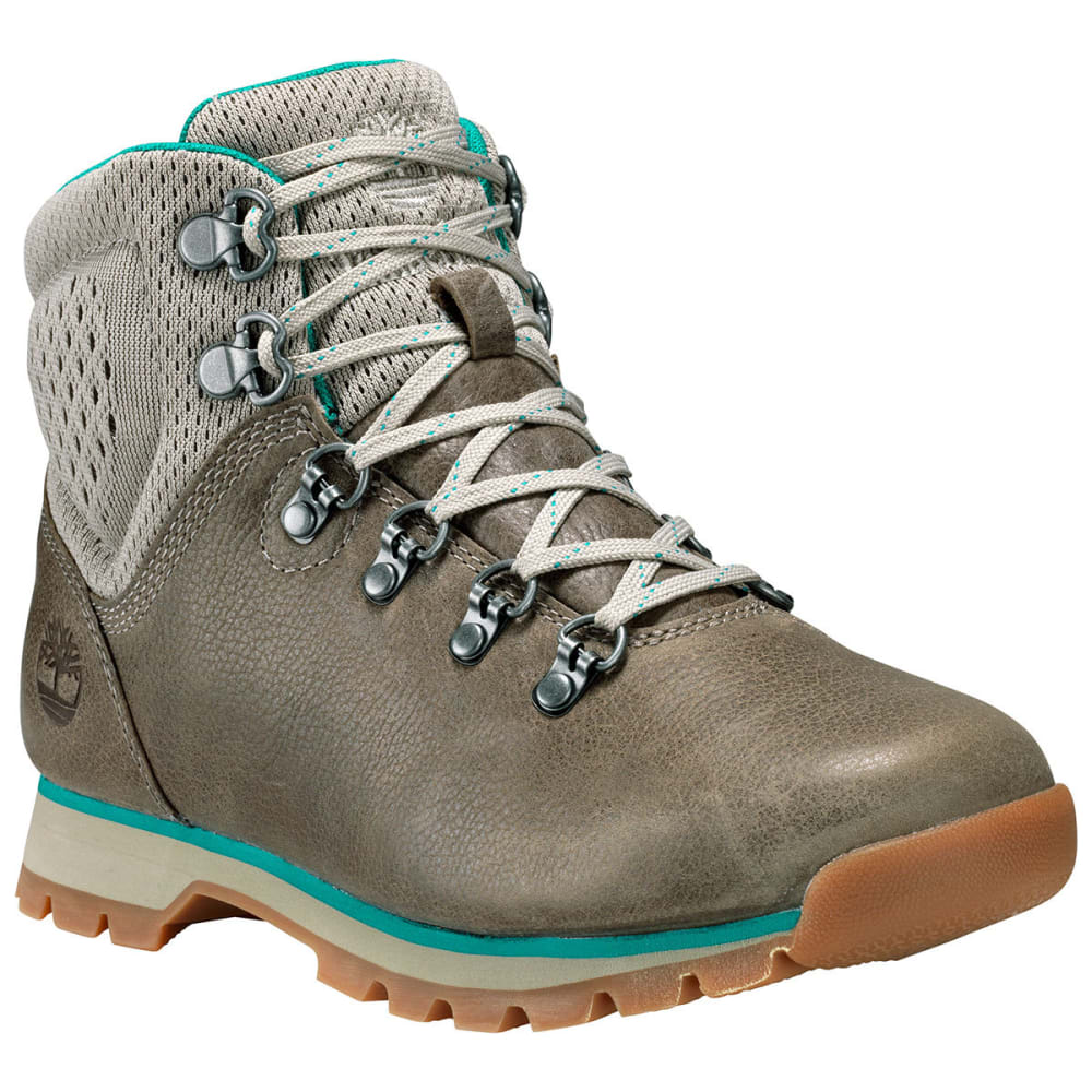 TIMBERLAND Women's Alderwood Mid Hiking Boots, Olive Full Grain - OLIVE