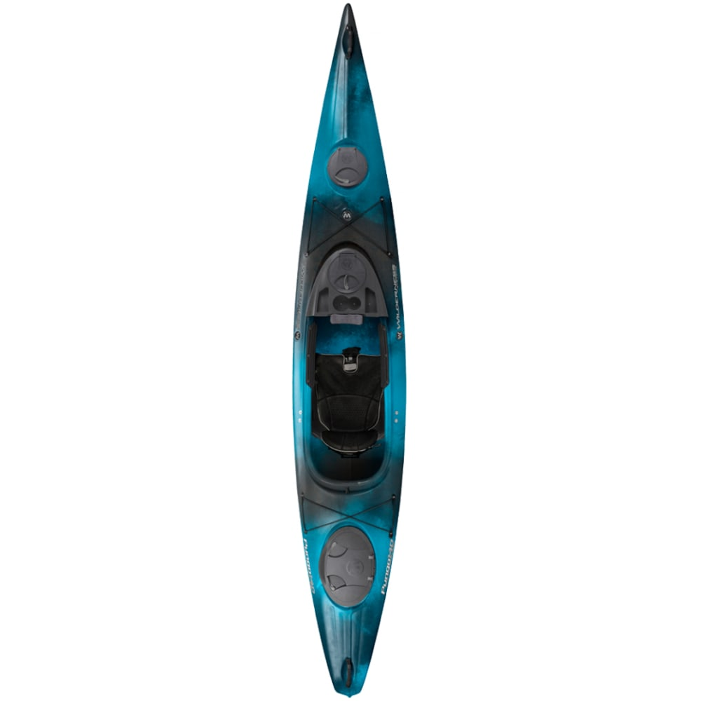 WILDERNESS SYSTEMS Pungo 140 Kayak, Factory Second - MIDNIGHT