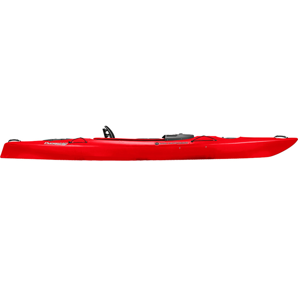 WILDERNESS SYSTEMS Pungo 140 Kayak, Factory Second - RED