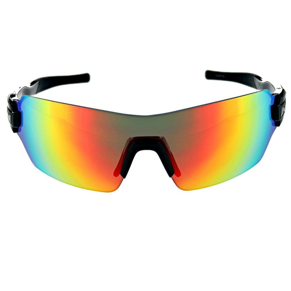OPTIC NERVE Vapor Interchangeable 3 Sunglasses - SHINY BLACK