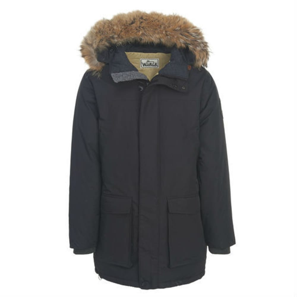 WOOLRICH Men's Patrol Down Parka - BLACK