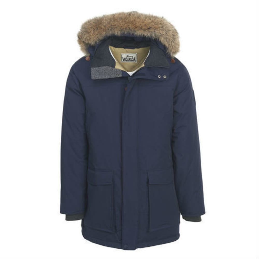 WOOLRICH Men's Patrol Down Parka - DEEP NAVY