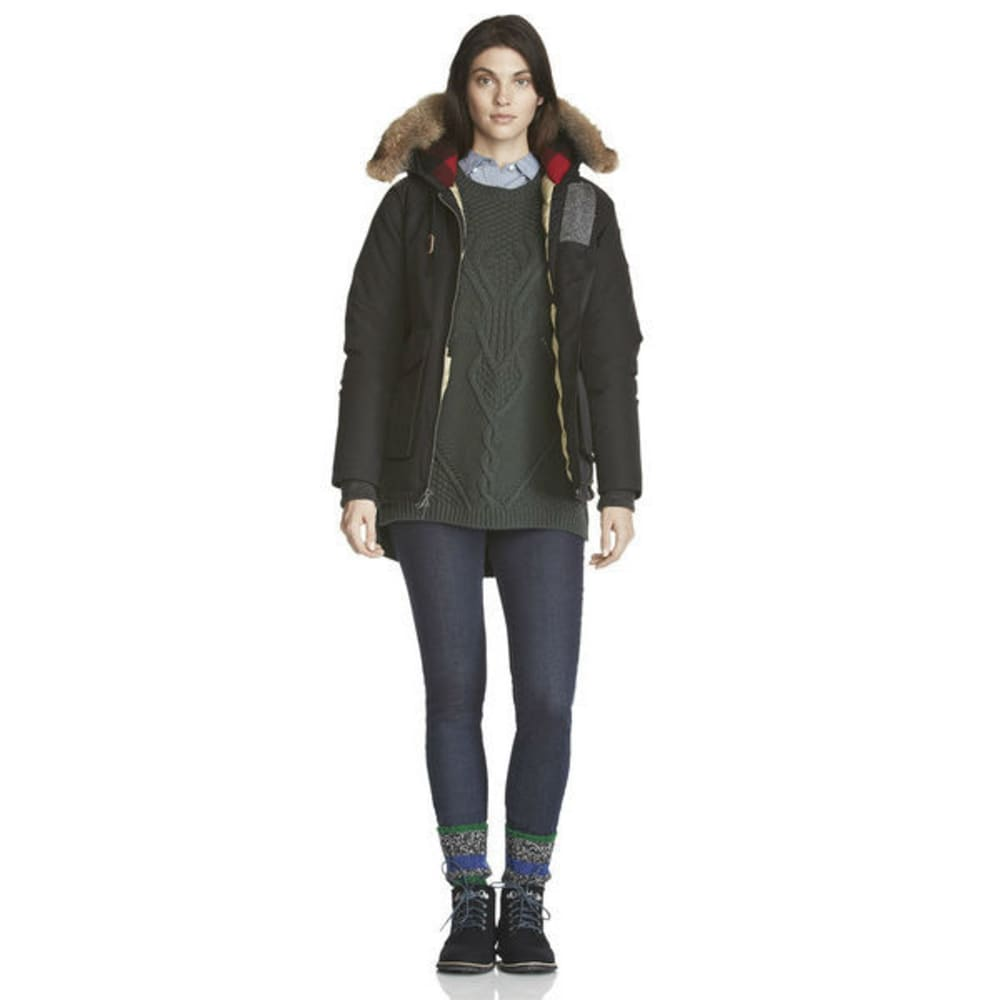 WOOLRICH Women's Patrol Down Short Parka - BLACK