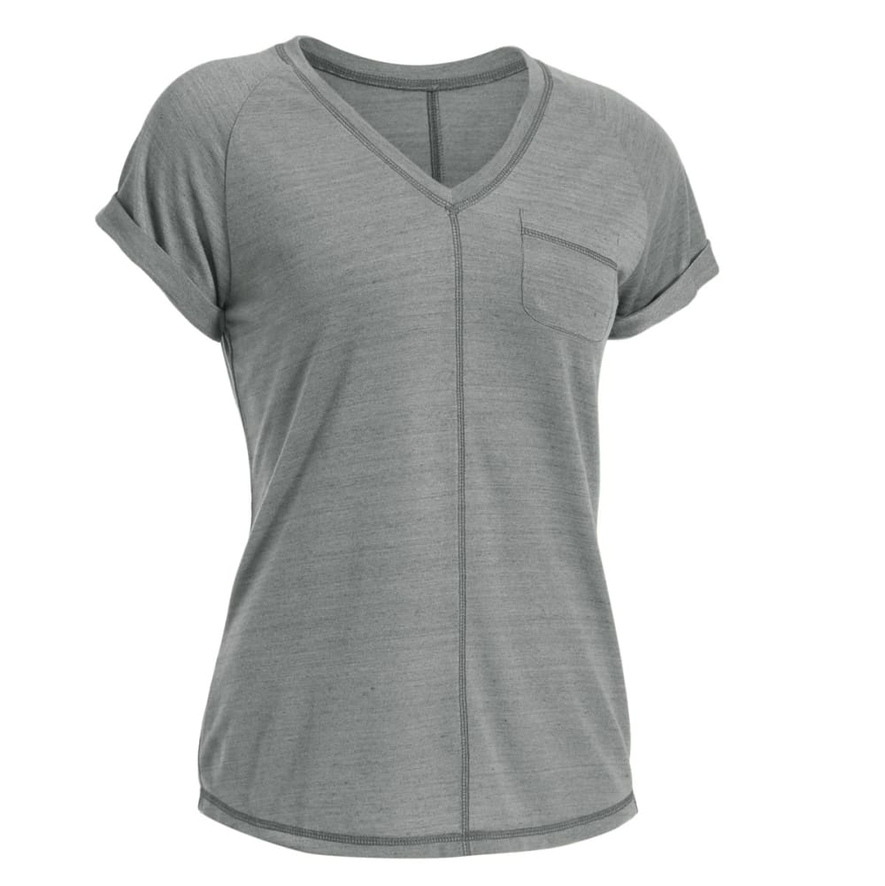 EMS® Women's Ethereal Short-Sleeve Shirt - NEUTRAL GREY HTR