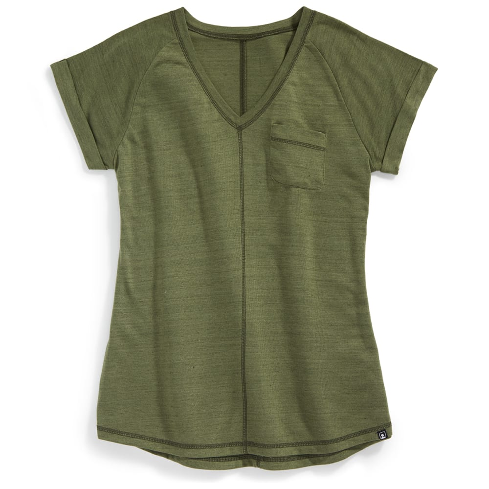 EMS® Women's Ethereal Short-Sleeve Shirt - FOREST NIGHT HTR