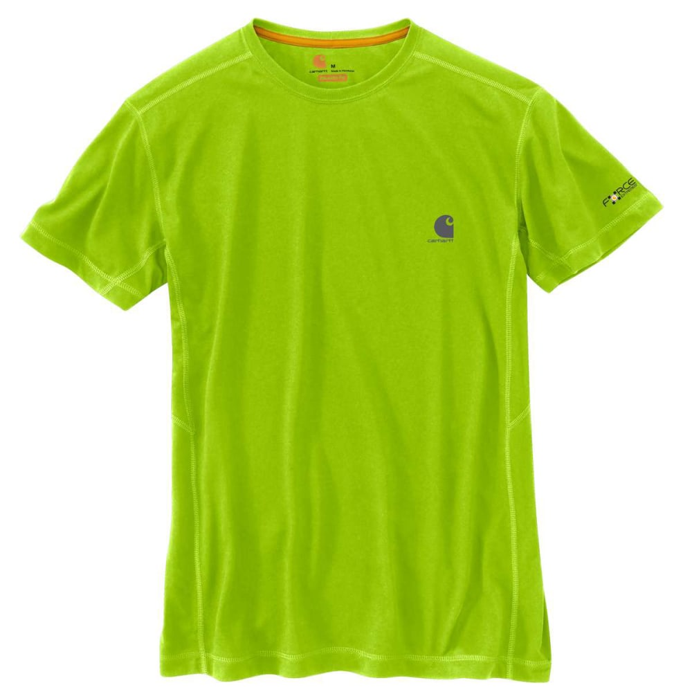 CARHARTT Men's Force Extremes Short-Sleeve Tee - SOUR APPLE 327