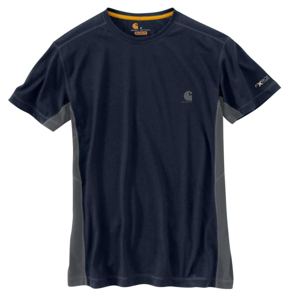CARHARTT Men's Force Extremes Short-Sleeve Tee - NAVY/BLUESTONE 495