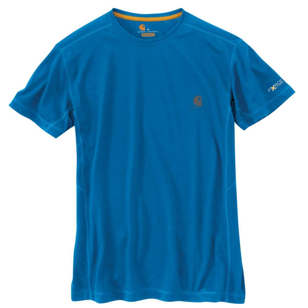 CARHARTT Men's Force Extremes Short-Sleeve Tee - HURON BLUE 419