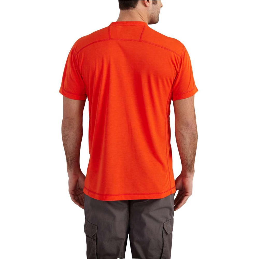 CARHARTT Men's Force Extremes Short-Sleeve Tee - ENERGETIC ORANGE 821