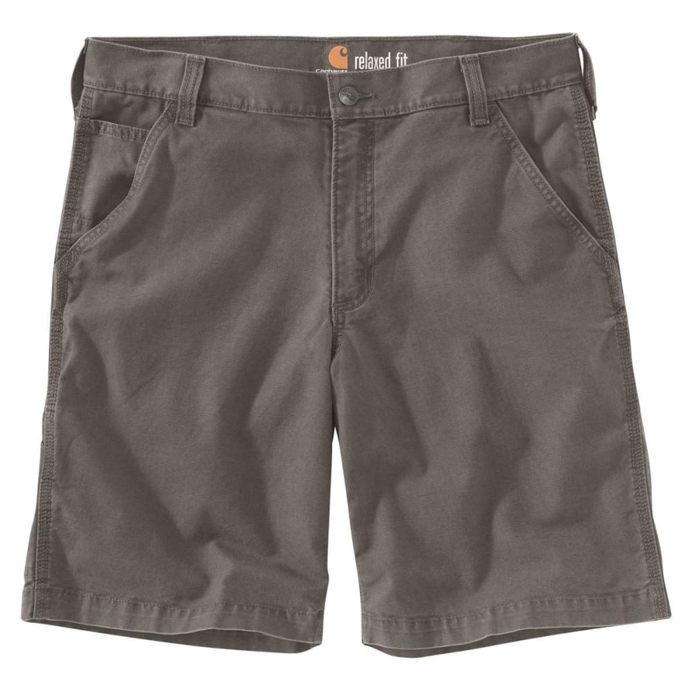 CARHARTT Men's Rugged Flex Rigby Shorts - GRAVEL 039