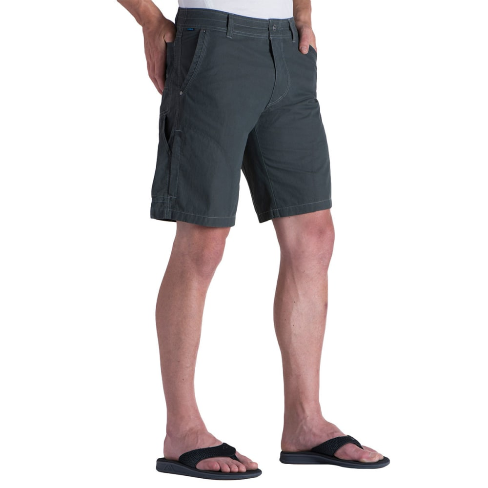 KUHL Men's Ramblr Shorts, 10 IN. - CA-CARBON