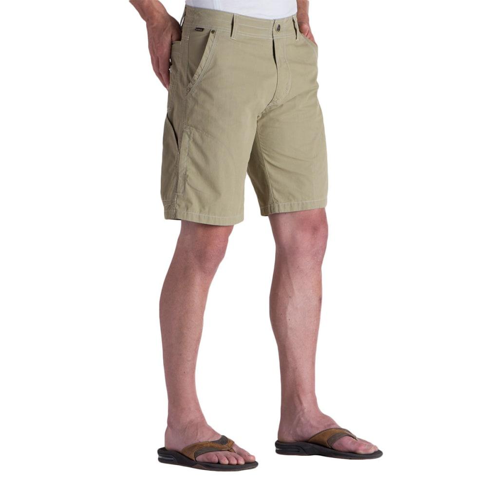 KUHL Men's Ramblr Shorts, 10 IN. - SD-SAWDUST