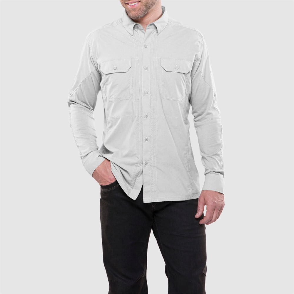 KUHL Men's Airspeed Long Sleeve Woven Shirt - NATURAL