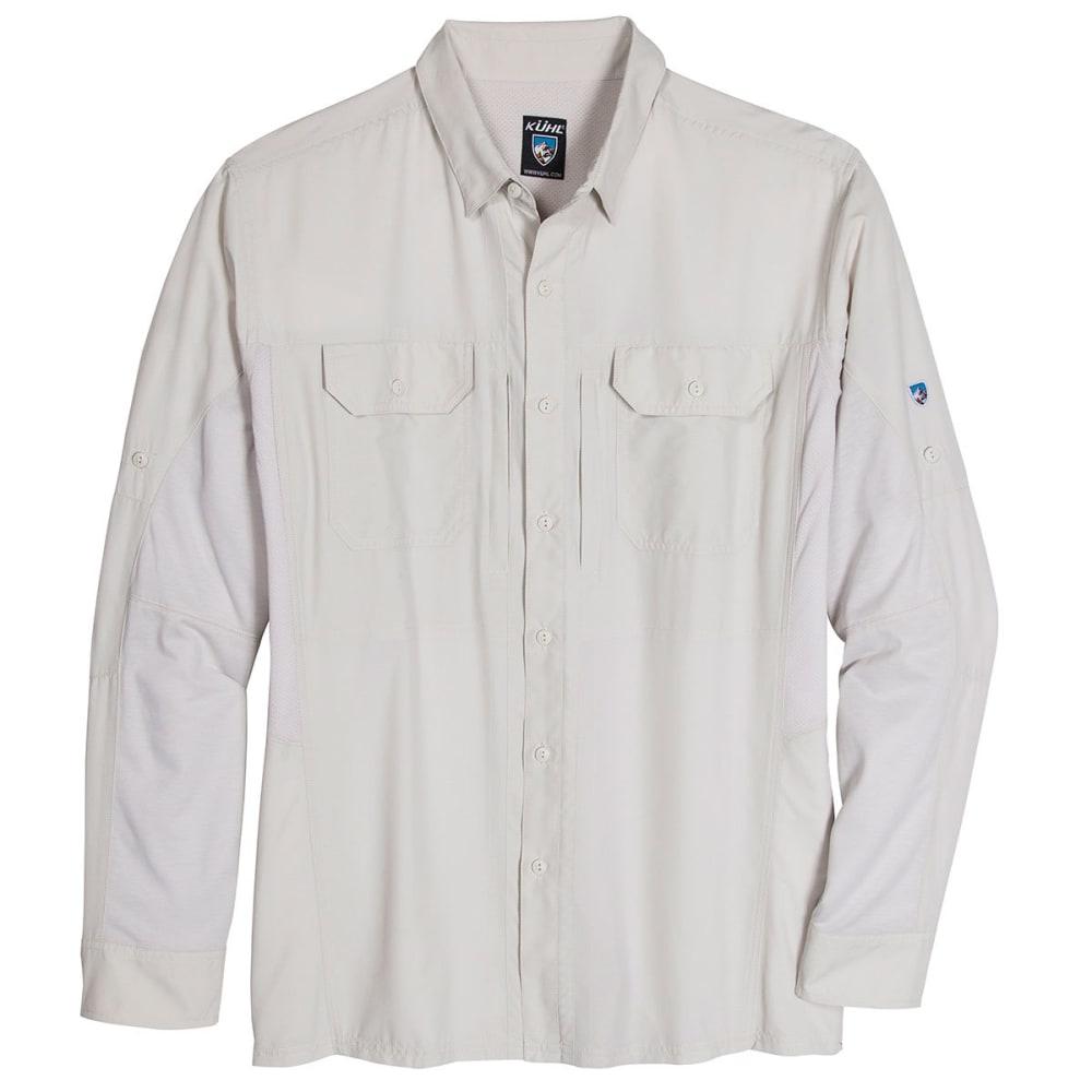 KUHL Men's Airspeed Long Sleeve Woven Shirt - NATURAL