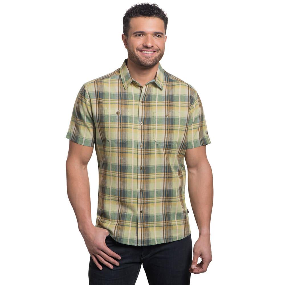 KUHL Men's Skorpio Short Sleeve Woven Shirt S