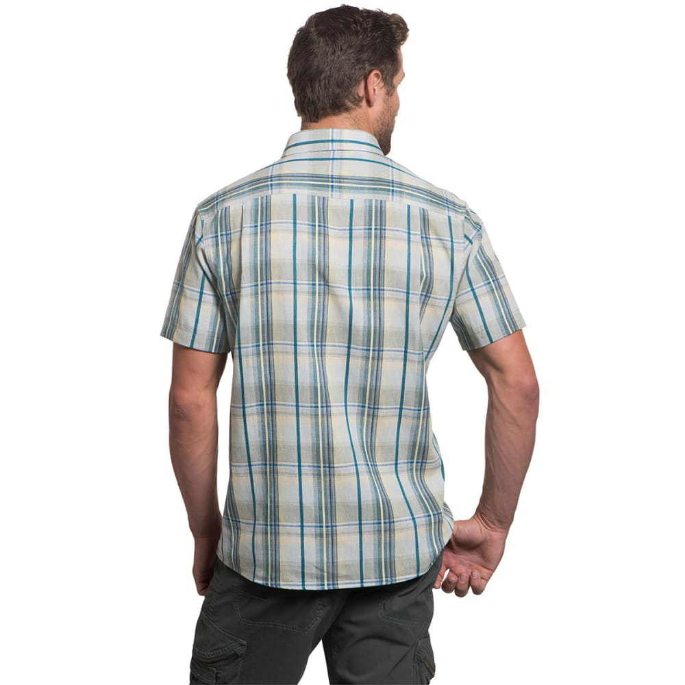 KUHL Men's Skorpio Short Sleeve Woven Shirt - SAIL BLUE