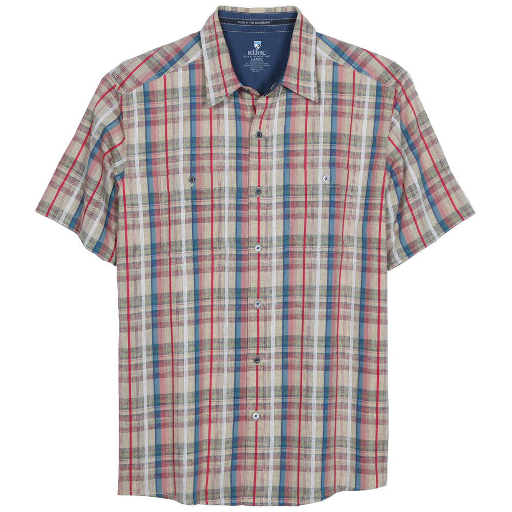 KUHL Men's Skorpio Short Sleeve Woven Shirt - SFZ-SUN FUZION