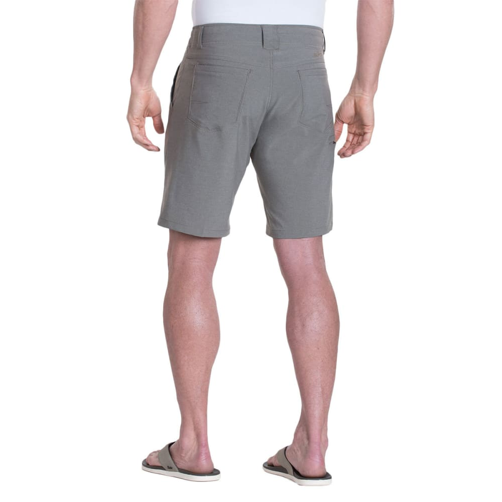 KUHL Men's Shift Amfib Shorts, 12 IN. - CHARCOAL