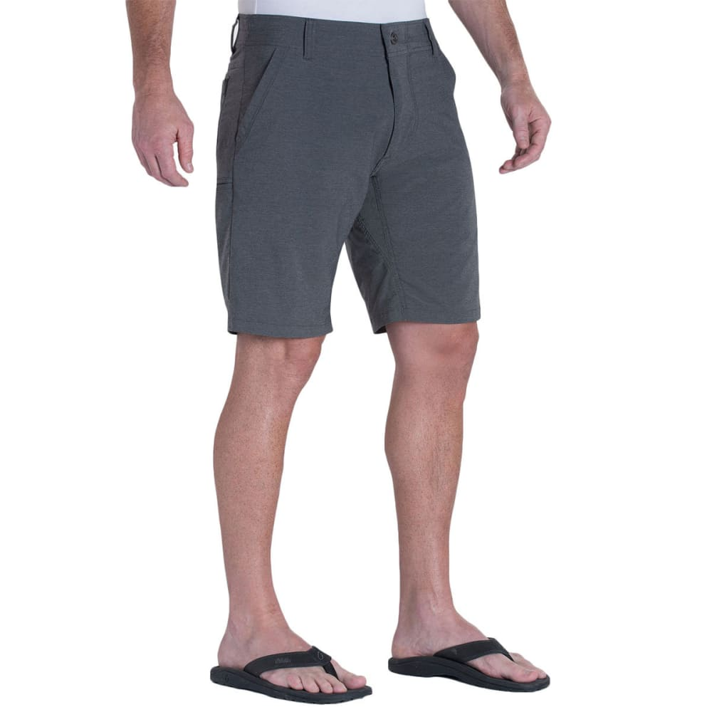 KUHL Men's Shift Amfib Shorts, 12 IN.  - CARBON
