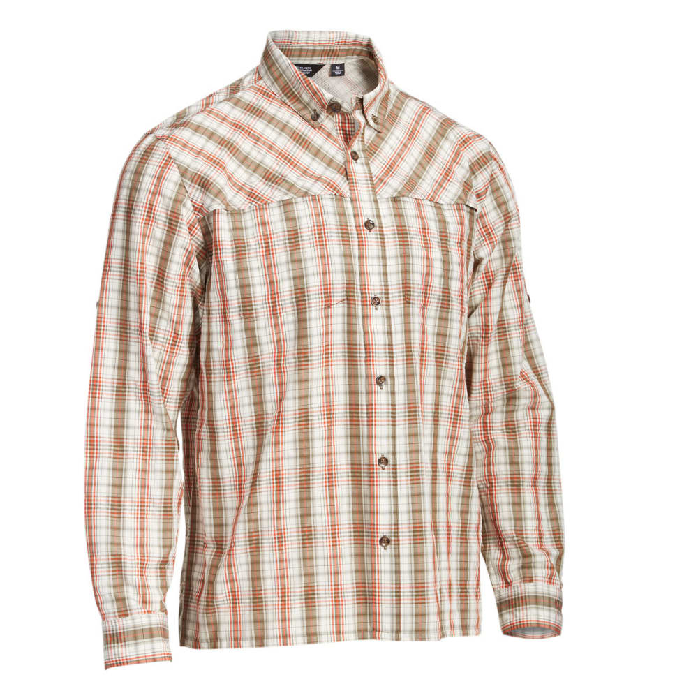 EMS® Men's Journey Plaid Long-Sleeve Shirt - SUMMER FIG