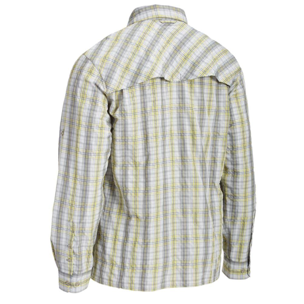 EMS® Men's Journey Plaid Long-Sleeve Shirt - SULFUR