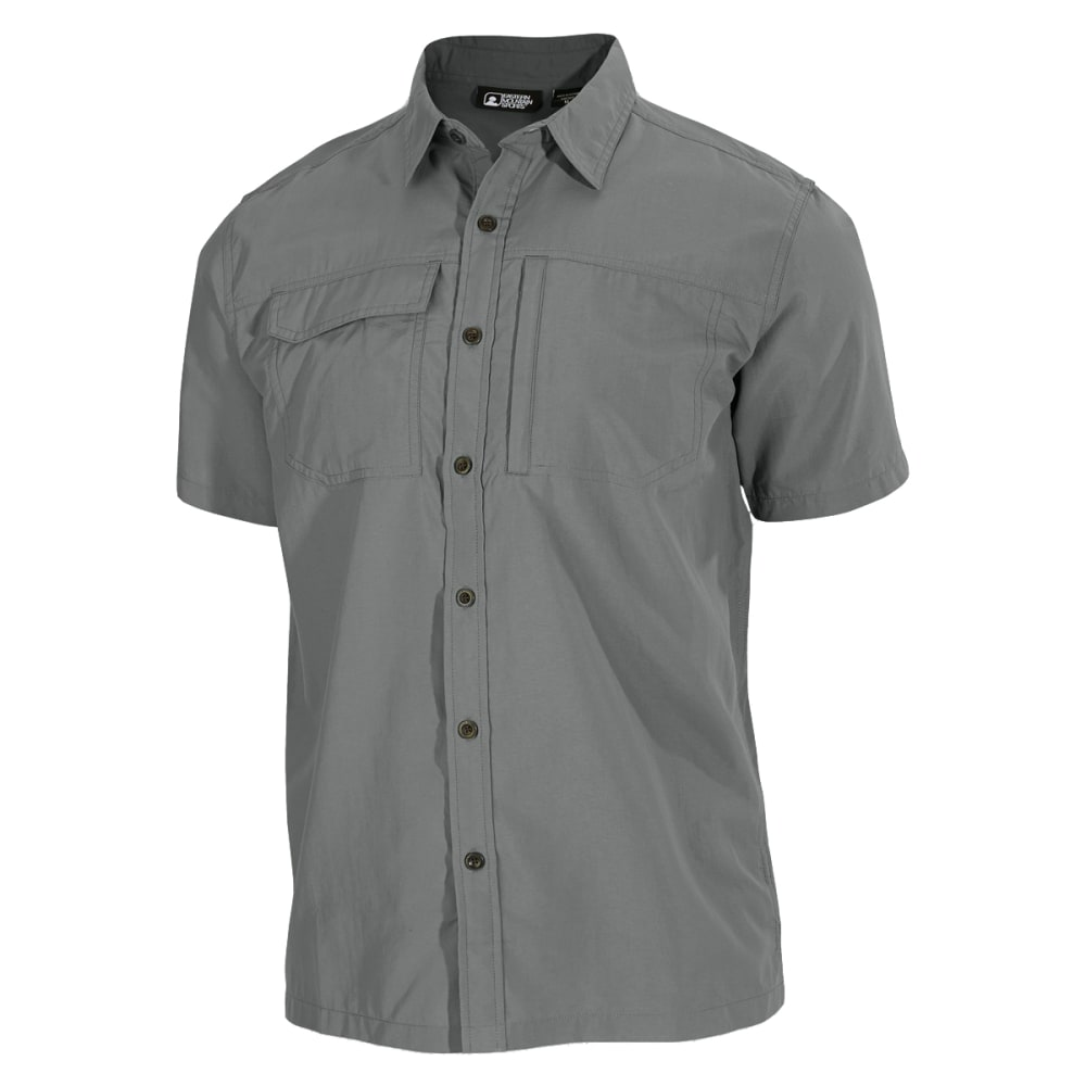EMS® Men's Trailhead Short-Sleeve Shirt - NEUTRAL GREY