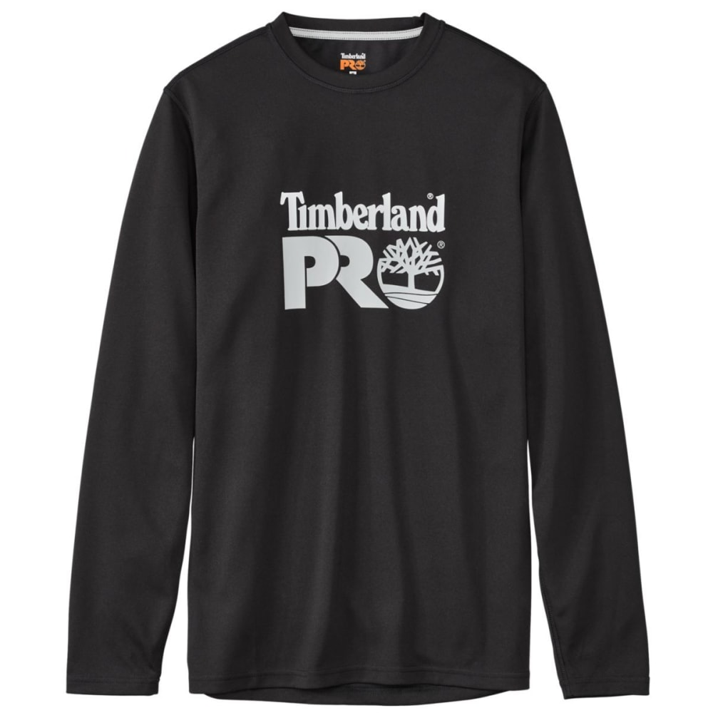 TIMBERLAND PRO Men's Wicking Good Long Sleeve Tee - JET BLACK 015