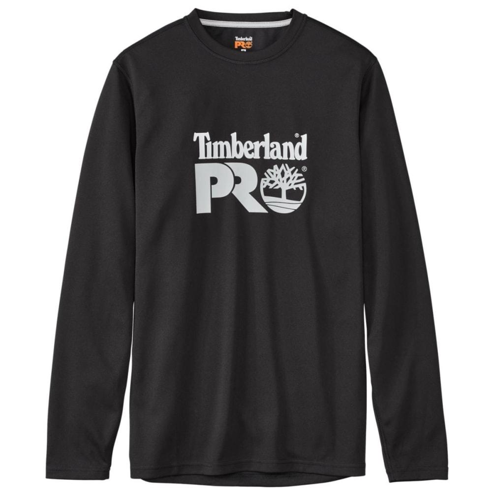 TIMBERLAND PRO Men's Wicking Good Long Sleeve Tee - JET BLACK 015