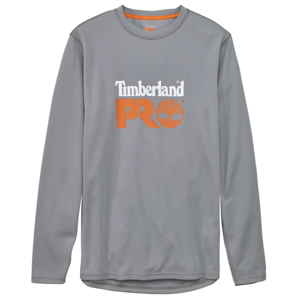 TIMBERLAND PRO Men's Wicking Good Long Sleeve Tee - GREY WILD DOVE 067