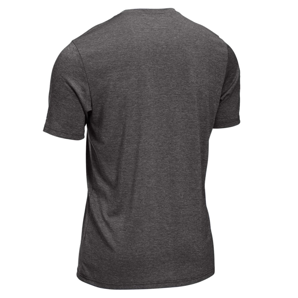 EMS® Men's Techwick® Airspeed Running Tee - DARK HEATHER GRAY