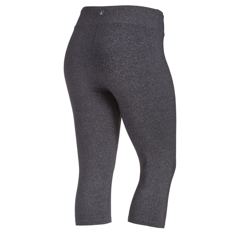 EMS Women's Techwick Fusion Capris - DARK GREY HEATHER