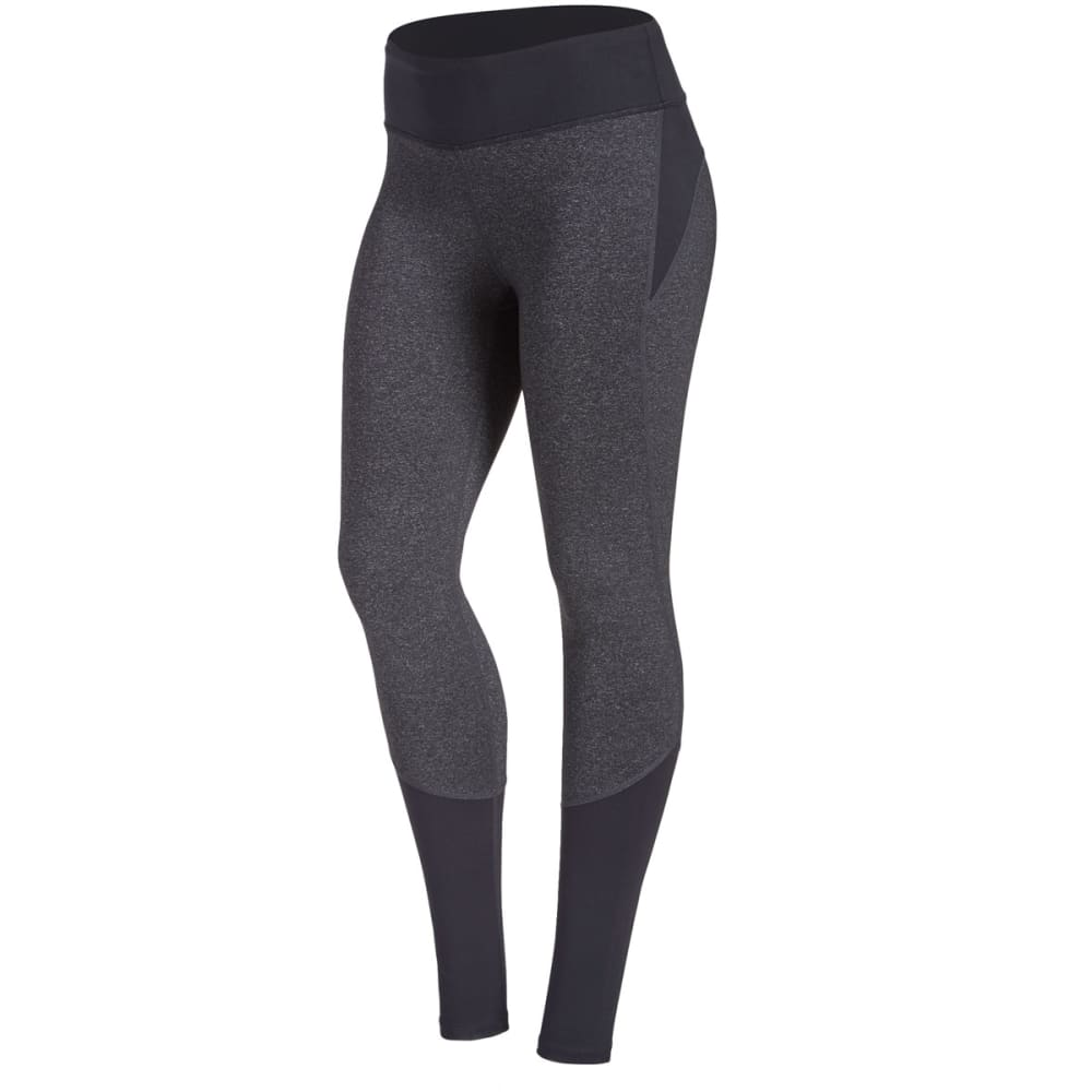 EMS® Women's Techwick® Fusion Color-Block Leggings - BLK/DRK GREY HTR