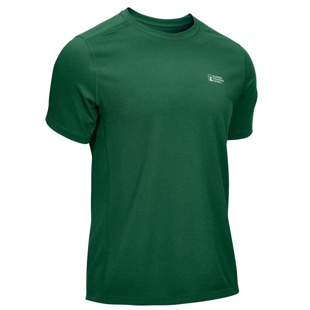 EMS Men's Techwick Epic Active UPF Short-Sleeve Shirt - EDEN