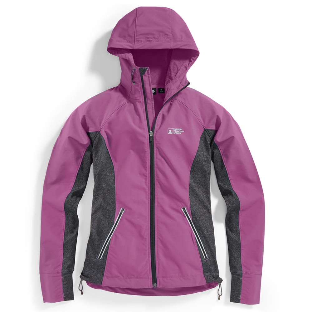 Deals on EMS Women's Techwick Active Hybrid Wind Jacket