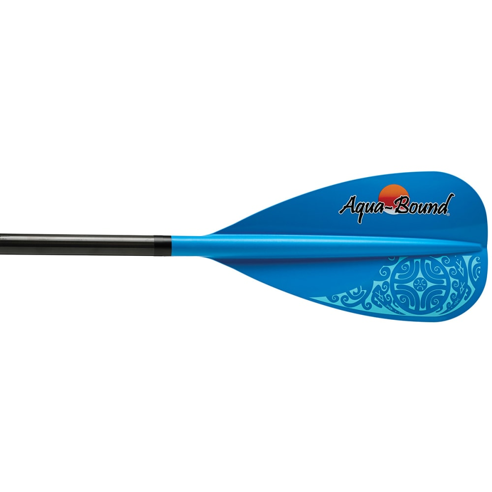 AQUA-BOUND Freedom 85 Stand Up Paddle, 4-Piece - BLUE