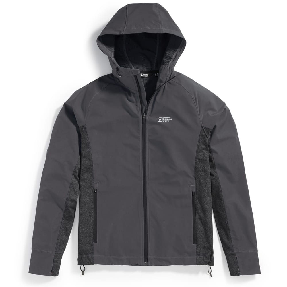 EMS Men's Techwick Active Hybrid Wind Jacket - PHANTOM