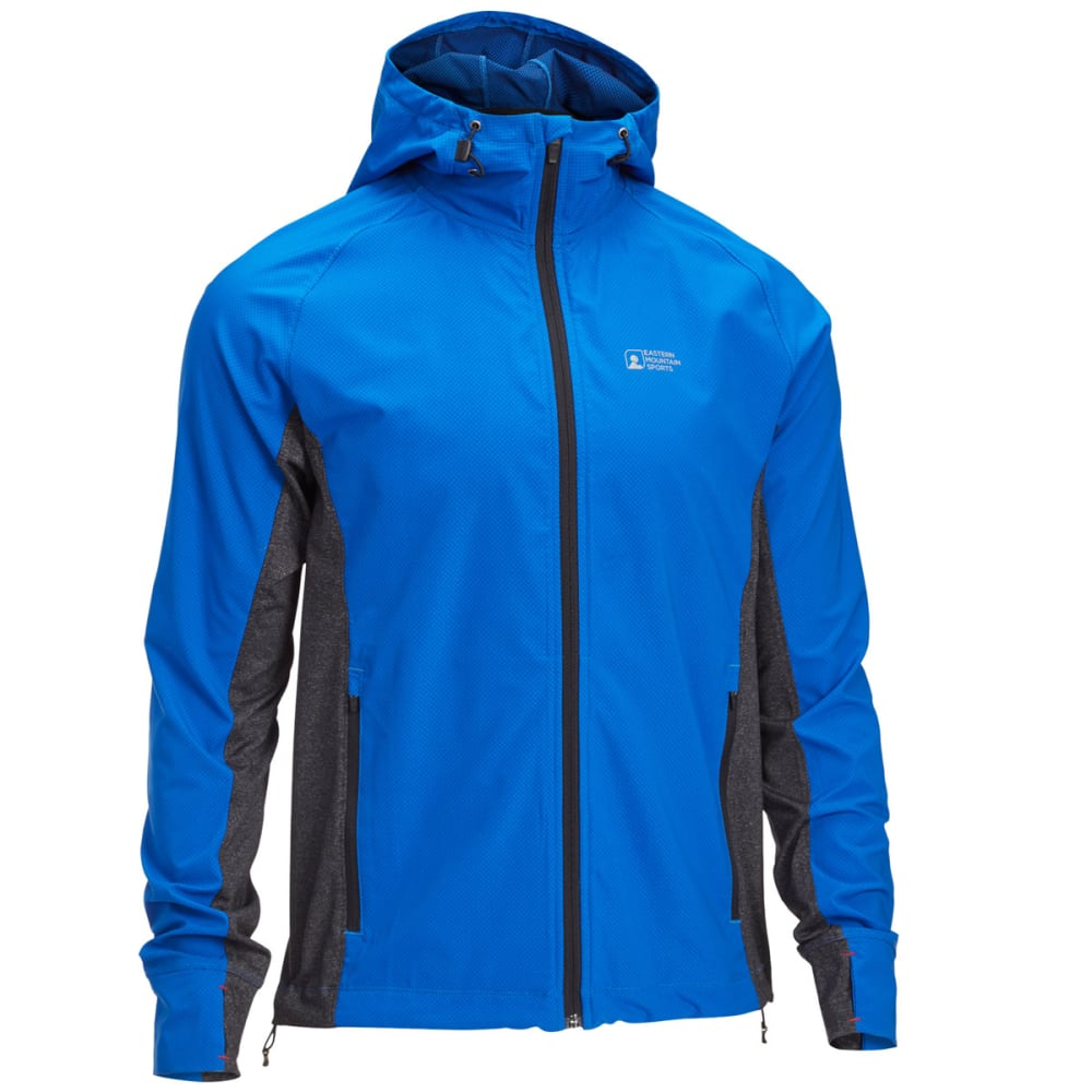 EMS® Men's Techwick® Active Hybrid Wind Jacket - LAPIS BLUE