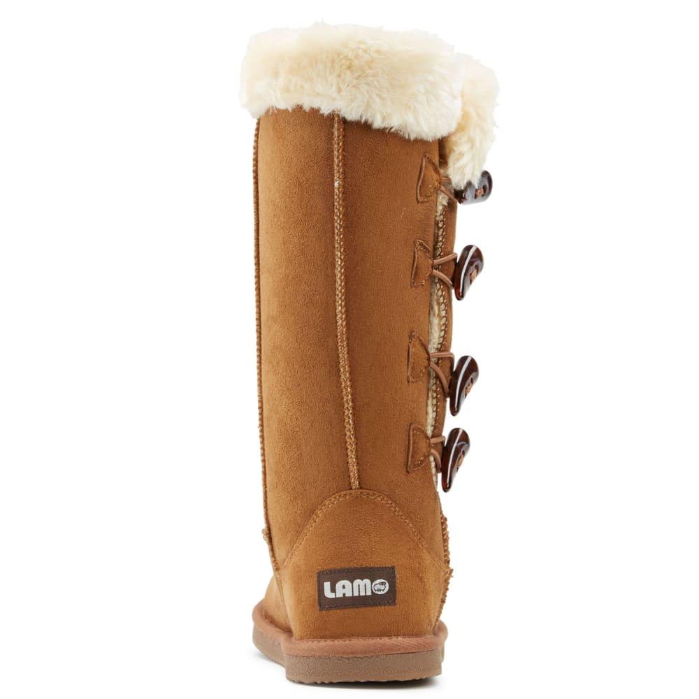 LAMO Women's Four-Toggle Boots - CHESTNUT
