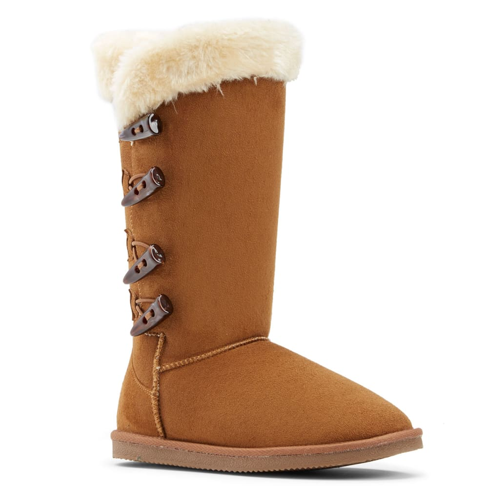 LAMO Women's Four-Toggle Boots - CHESTNUT