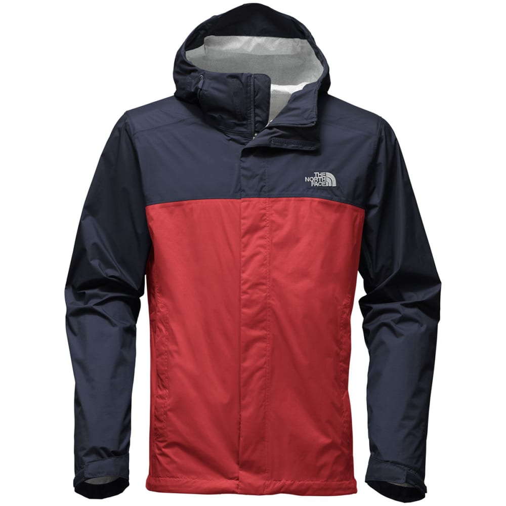 THE NORTH FACE Men's Venture 2 Jacket - QZB-CARD RED/URB NAV