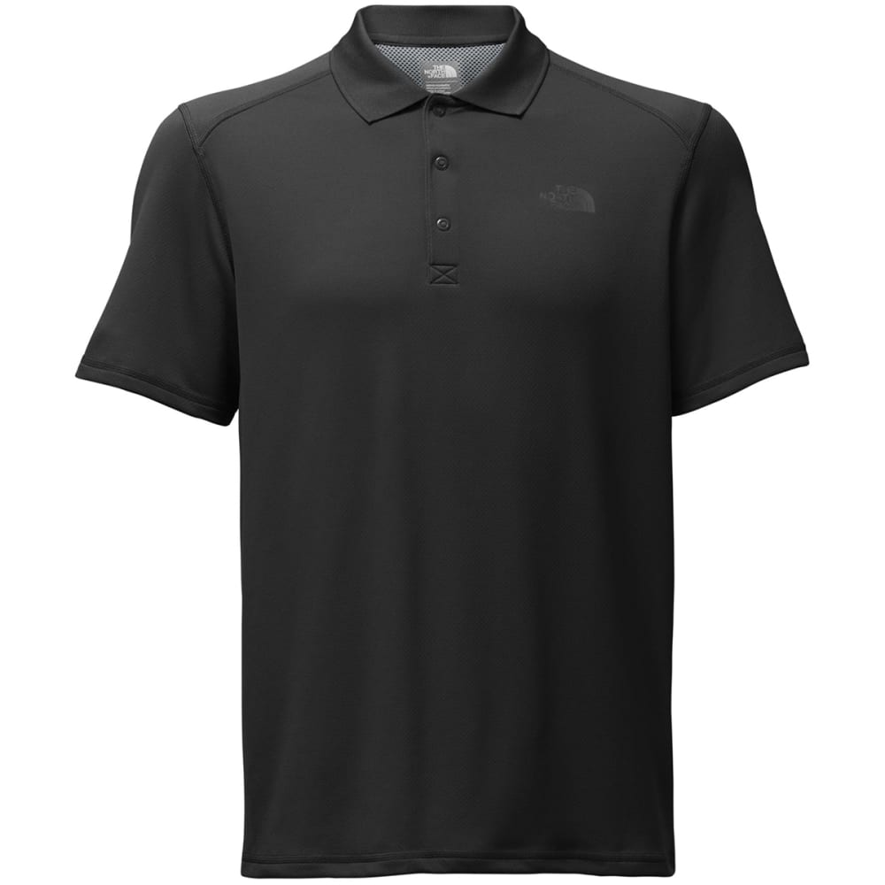 THE NORTH FACE Men's Short Sleeve Horizon Polo - JK3-TNF BLACK