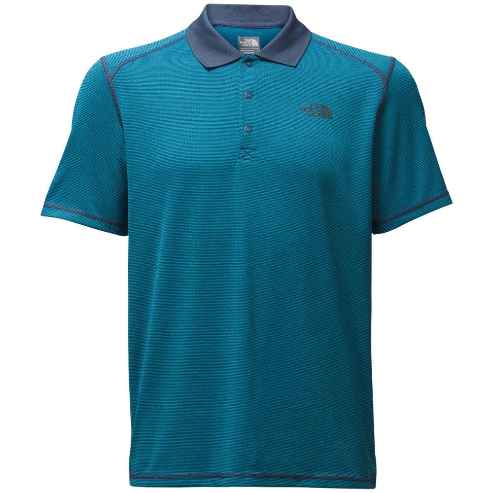 THE NORTH FACE Men's Short Sleeve Horizon Polo - LNP-SHADY BLUE STRPE