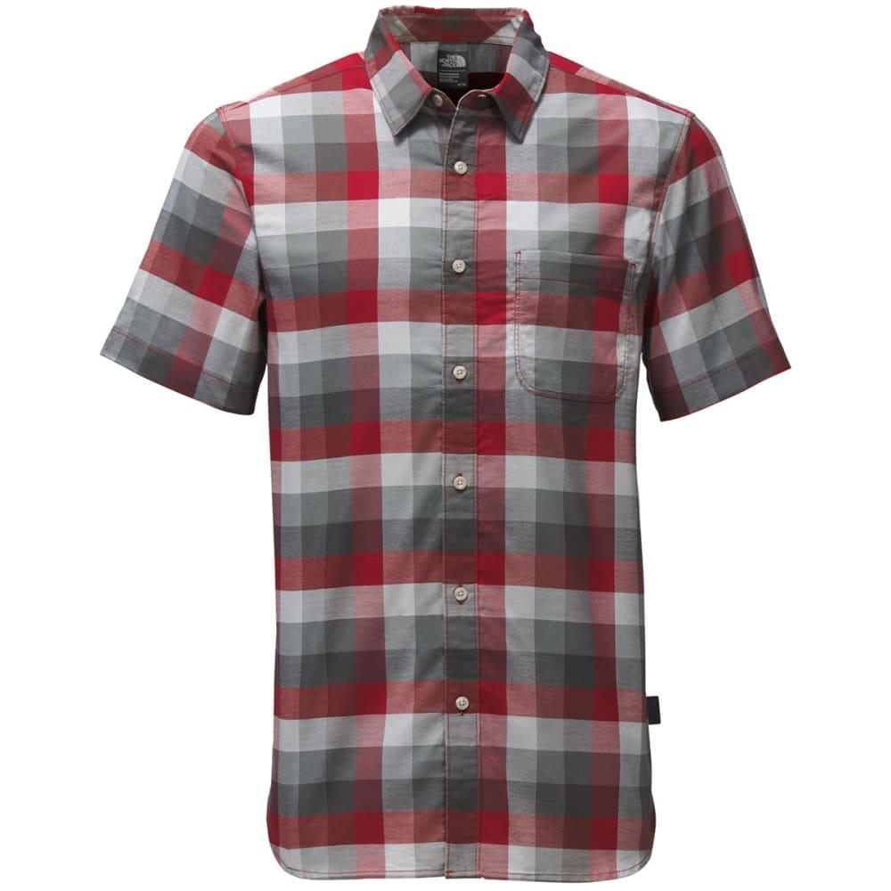 THE NORTH FACE Men's Short-Sleeve Road Trip Shirt - MUZ-CARDINAL RED PLA