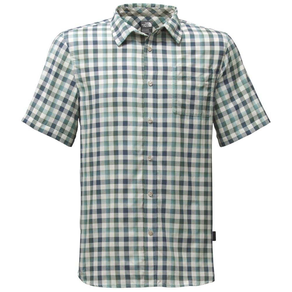 THE NORTH FACE Men's Short Sleeve Getaway Shirt - SAJ-BLIZZARD BLUE PL