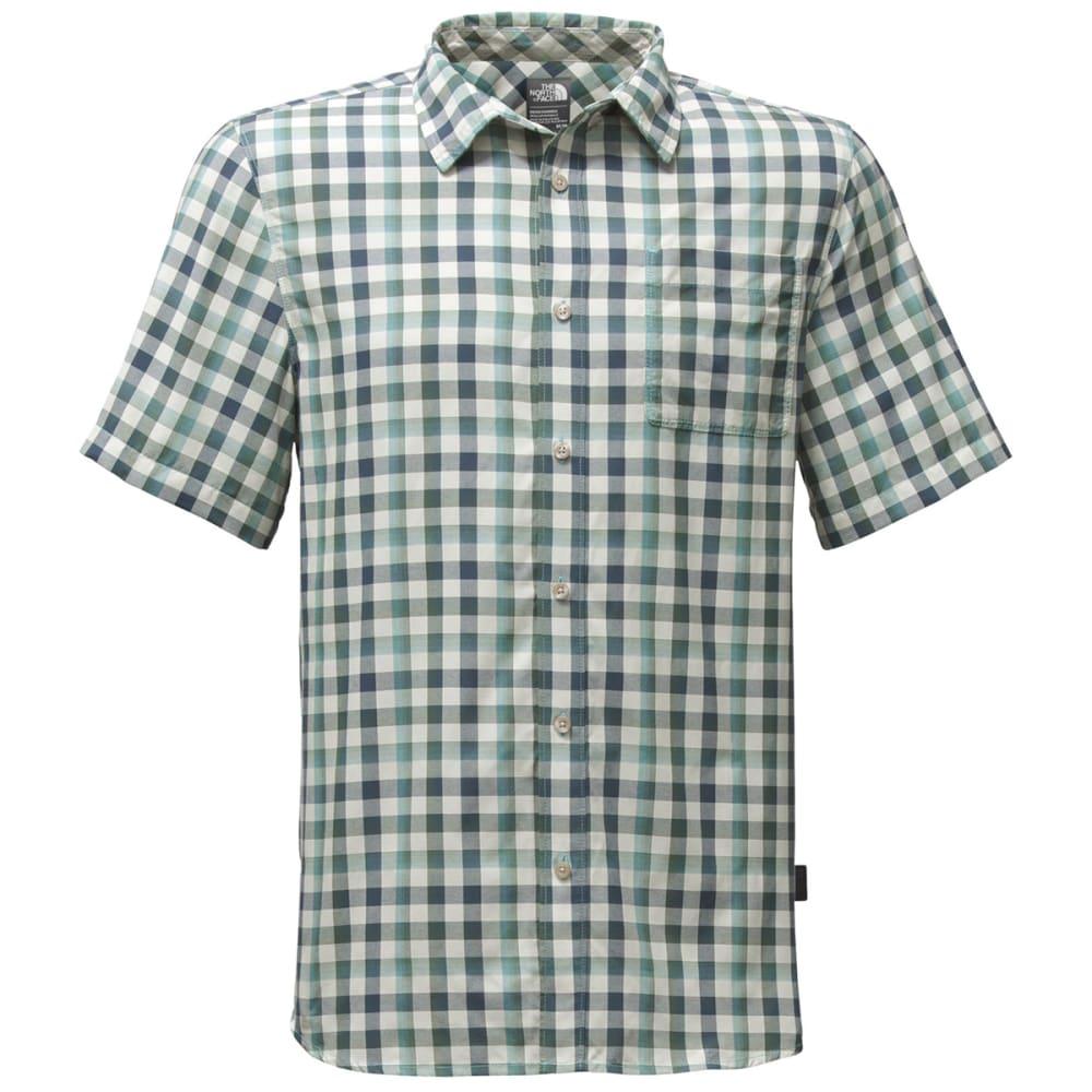 THE NORTH FACE Men's Short Sleeve Getaway Shirt - SAJ-BLIZZARD BLUE PL