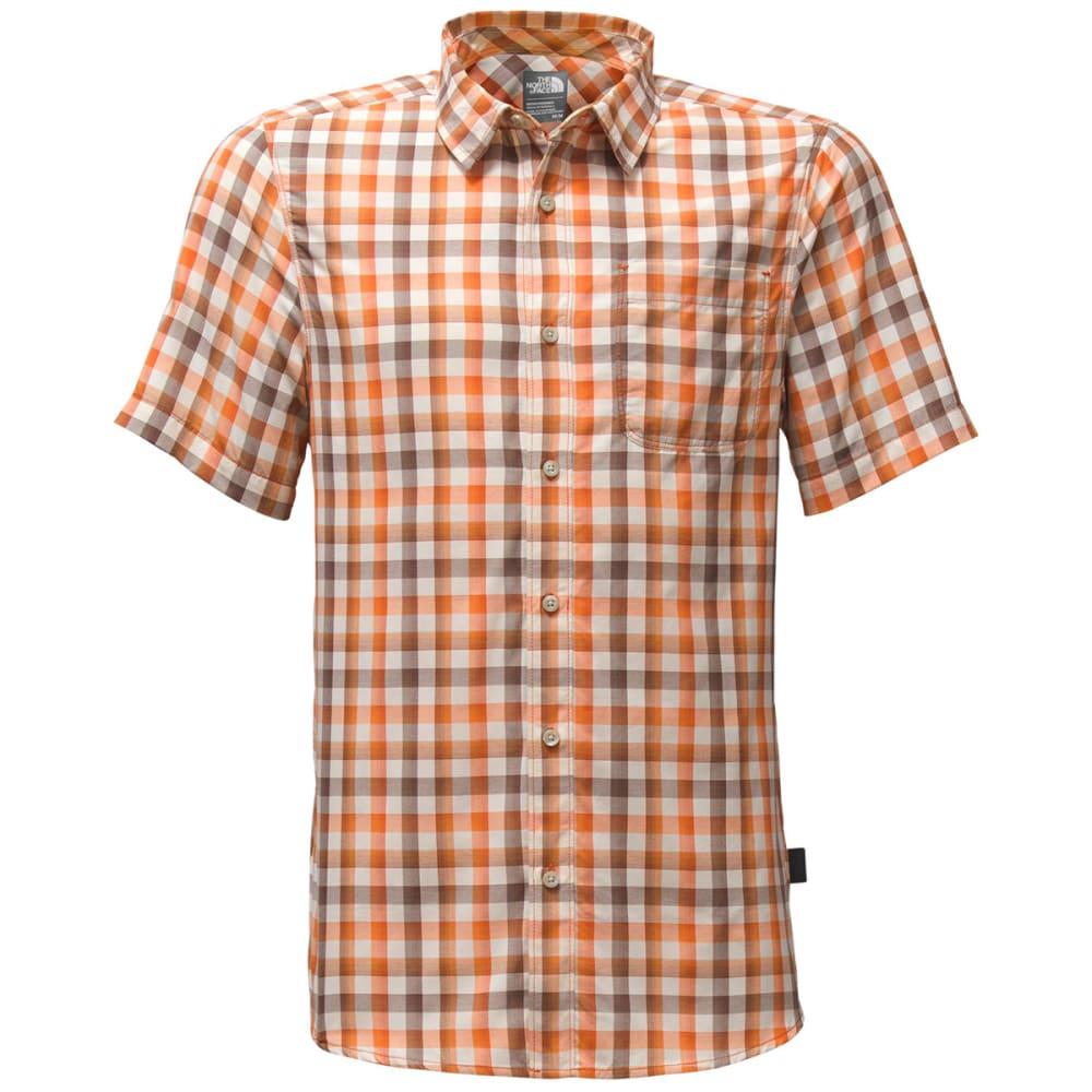 THE NORTH FACE Men's Short Sleeve Getaway Shirt - QUH-TIBETAN ORANGE P