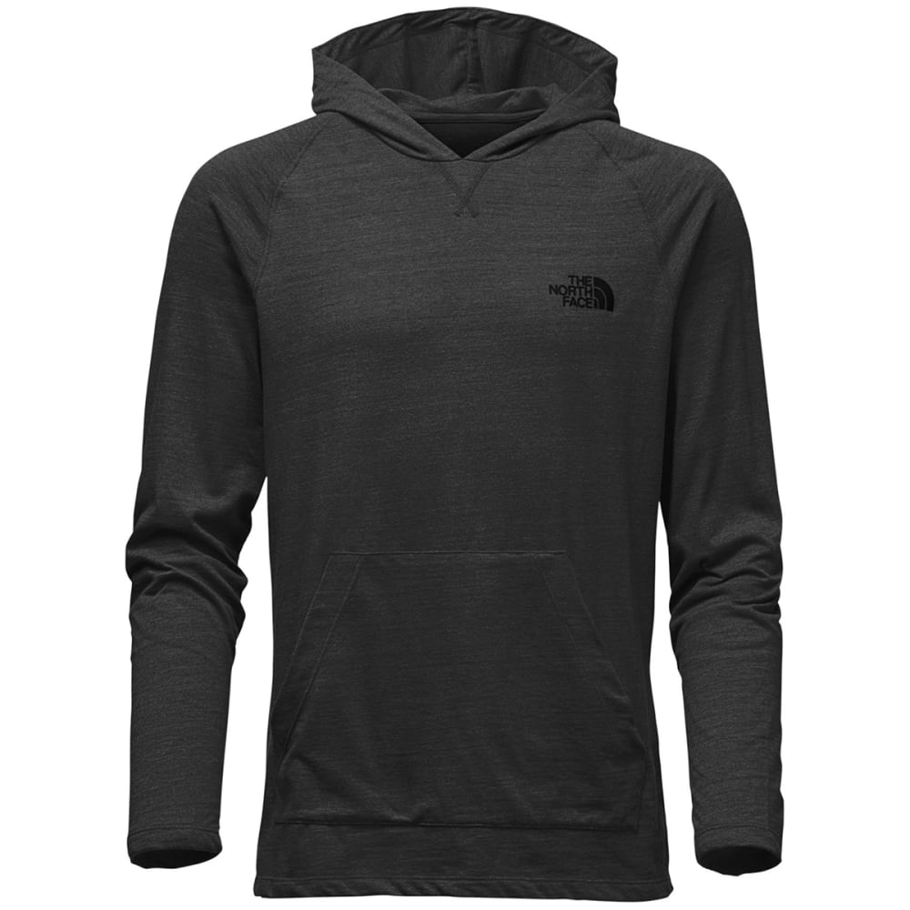 THE NORTH FACE Men's LFC Tri-Blend Pullover - FLC-TNF DRK GRY HTHR
