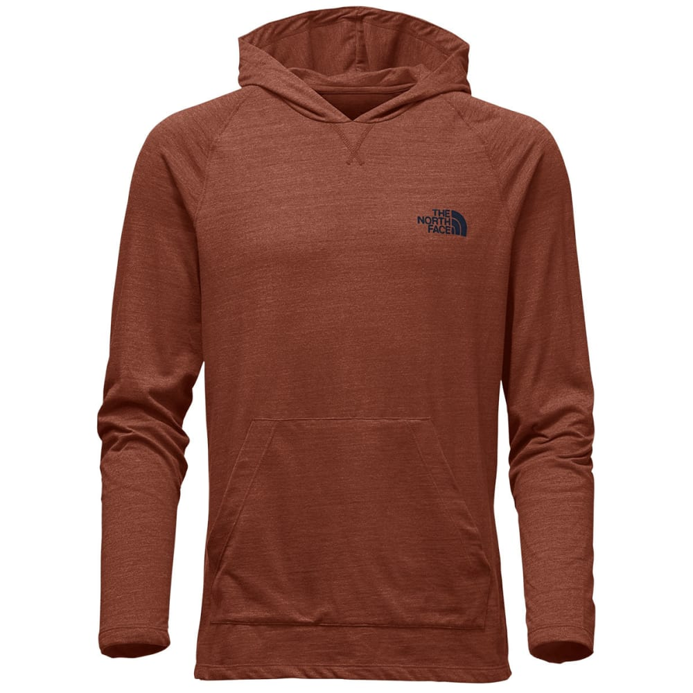 THE NORTH FACE Men's LFC Tri-Blend Pullover - UHG-KETCHUP RED HTHR