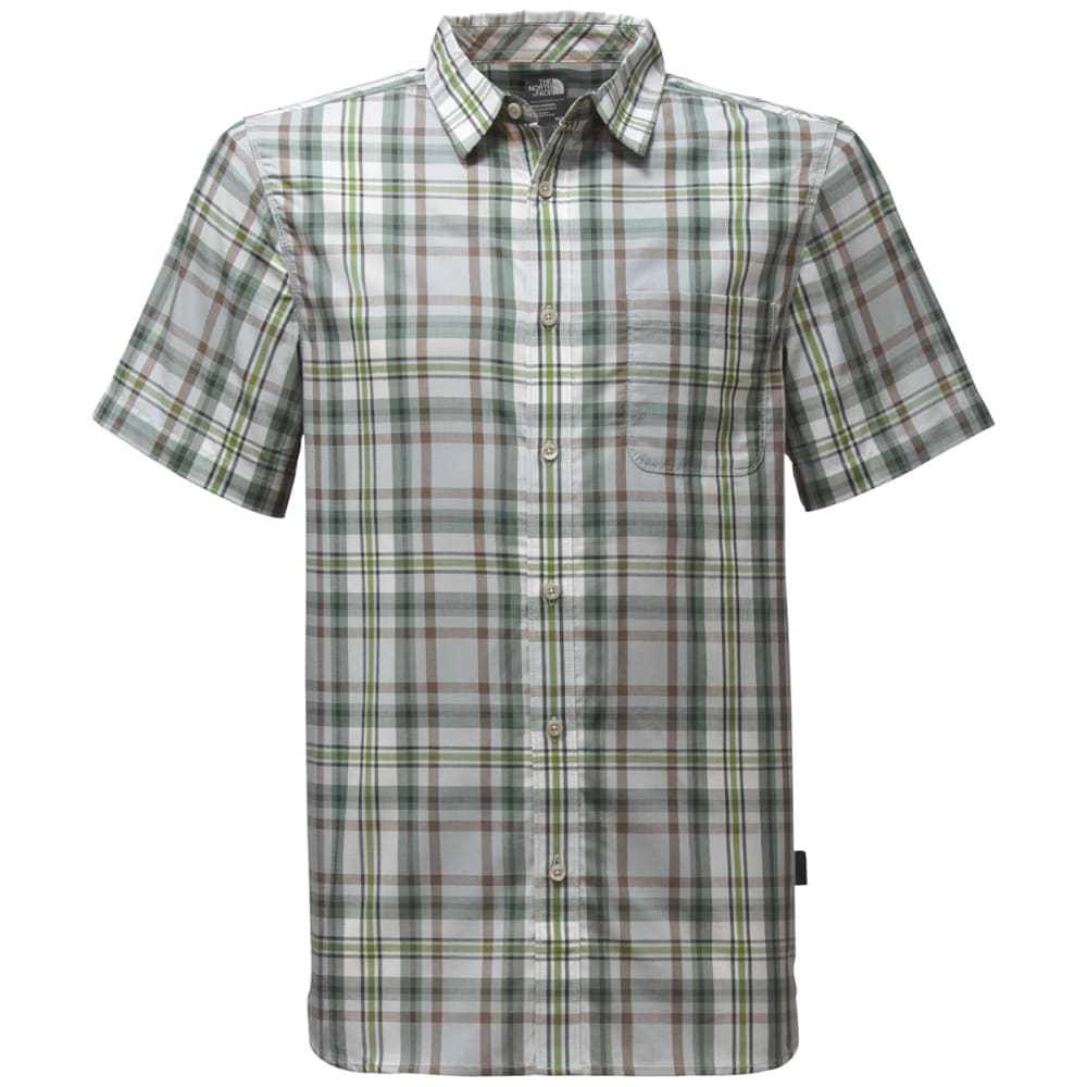 THE NORTH FACE Men's Short Sleeve Passport Shirt - A8Y-HIGH RISE GREY